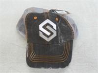 Scentlok OSFA Distressed Hat, Black Logowear