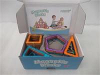 (110 PCS) Magnetic Building Blocks Educational