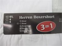 (3) 3-Pks Men's Size 6 (LG) Urban Express Herren