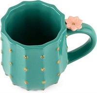 Pinky Up 6882 Cactus Mug, Multi Colored
