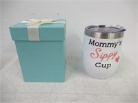 12 oz Tumbler With Lid Double Wall Insulated
