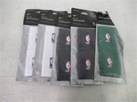 (5) NBA Nike Wristbands - Various Colours