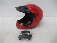 Razor Full Face Youth Helmet, Black Cherry