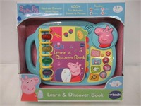VTech Peppa Pig Learn & Discover Book (English