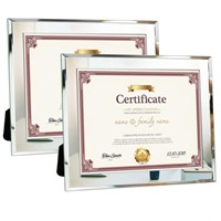 MCS 8.5x11 Inch Document Clip Frame, Clear
