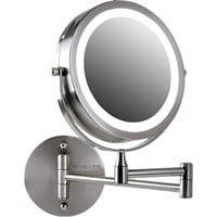 Ovente LED Ring Lighted Wall Mounted Mirror 8.5