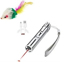 Rechargeable Cat Laser Toy/Pointer with Multi