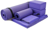 BalanceFrom GoYoga 7-Piece Set - Include Yoga Mat