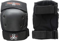 Triple Eight 60088 EP 55 Elbow Pads, Black,