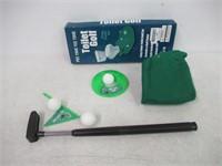 EZ Drinker Toilet Golf Putter Practice in The