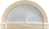 Original Arch Light Filtering Pleated Paper Shade