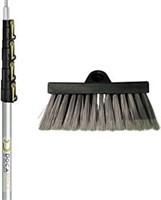 DocaPole Soft Bristle Scrub Brush with 6-24 Foot