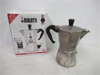 """Used"" Bialetti 6-Cup Stovetop Espresso Maker,"