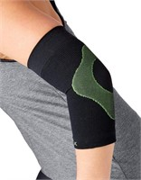P-tex Knit Compression Elbow Sleeve Black Size
