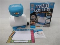 smART Sketcher Learn to Draw, Blue and White