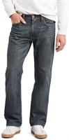 Levi's Men's 36x34 505 Regular Fit Jean, Range