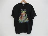Disney Men's X-Large Toy Story T-Shirt, Black