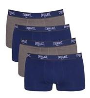 Everlast Men's Small EV7514 Underwear, Grey Combo: