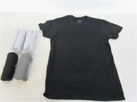 Gildan Men's Small Crew T-Shirt 5 Pack,