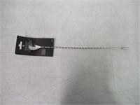 """Barfly M37013 Teardrop Bar Spoon, End 15 3/4"""""""