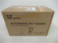 Wopet Automatic Pet Feeder Dog and Cat Feeder Food
