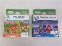 Lot of (2) Games for LeapFrog LeapPad Tablets