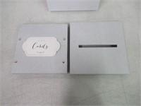 Kate Aspen 28316SV Glitter Collapsible Card Box,