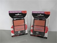 (2) Profusion Powder Blush 2 Color Palette, Light