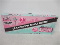 L.O.L. Surprise! Amazing Surprise with 14 Dolls,