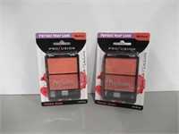 (2) Profusion Powder Blush 2 Color Palette, Medium