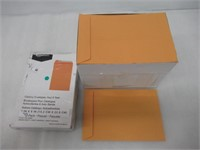 Catalog Mailing Envelopes, Peel & Seal, 6x9 Inch,
