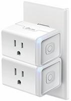 Kasa 2-Pk Smart WiFi Plug Mini by TP-Link, Works