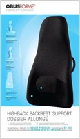 Obusforme Highback Backrest Support (Black)