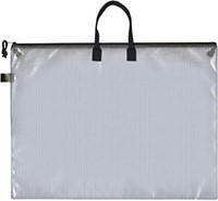 Pro Art Mesh Vinyl Zipper Bag With Carry Handles