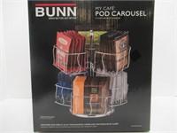 (2) Bunn MCPC My Cafe Pod Carousel Organizer &