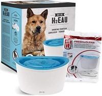 ZEUS Elevated Dog Water Dispenser, Dog Drinking