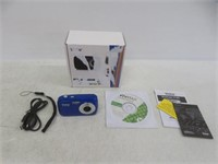 "Vivitar 7122BL ViviCam 7MP Camera with 1.8"" LCD,"