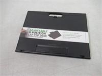 Mind Reader LTADJUST-BLK Adjustable Portable 8