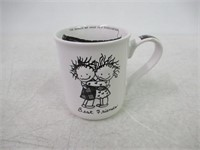 """As Is"" Enesco 4009416 Stoneware Gift Mug, STD,"