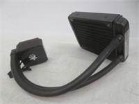 YaeCCC LED Water Liquid CPU Cooler w/ Adjustable