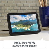 "Amazon Echo Show 8 - HD 8"" Smart Display w/ Alexa,"