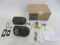 Schlage BE365 PLY Plymouth Keypad Deadbolt, Aged