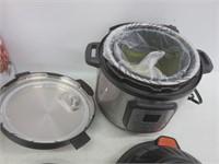 """""""As Is"""" Instant Pot Duo Crisp 11-in-1 Air Fryer,"""