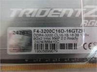 G.SKILL Trident Z RGB Series 16GB DDR4-3200MHz,