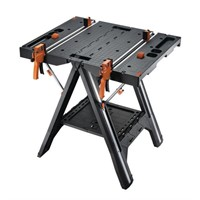 WORX WX051 Pegasus Folding Work Table with Quick
