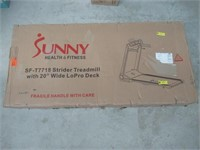 Sunny Health & Fitness Motorized Folding Running