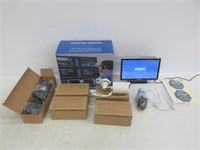 """OOSSXX 10"""" Screen HD 1080P 8-Channel Wireless"""