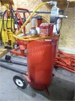 Fuel transfer barrel & pump