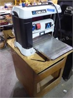 """Delta 13"""" two speed planer w/ wood stand"""