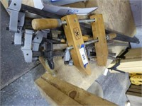 Bar clamps & screw clamp